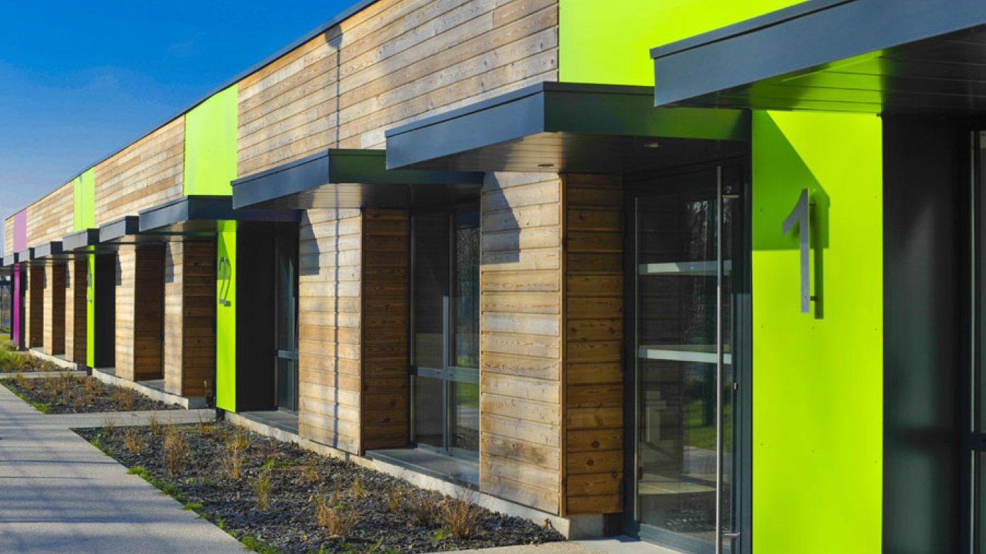 montigny en ostrevent 59 construction d un b timent relais projet architecture tertiaire. Black Bedroom Furniture Sets. Home Design Ideas