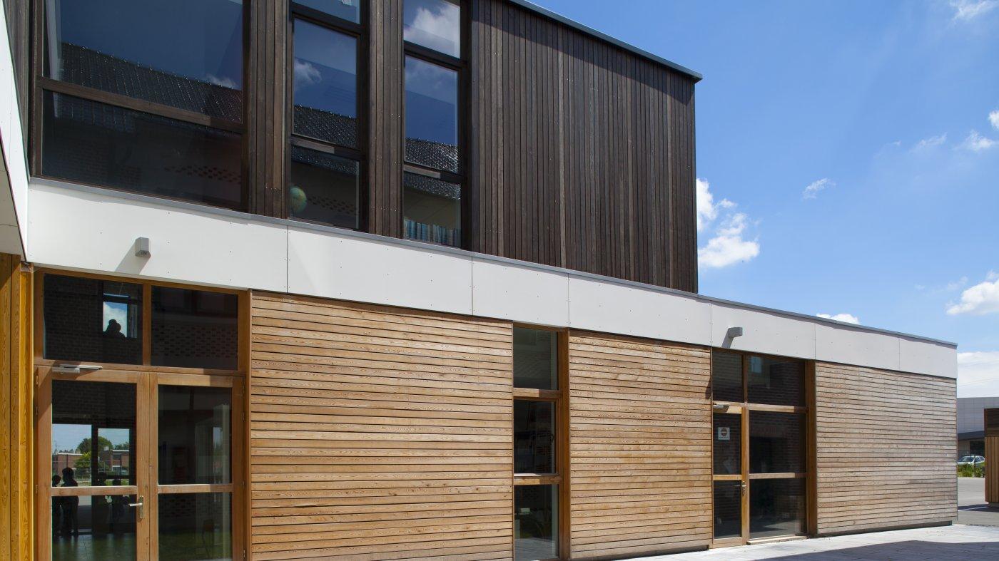 auby 59 extension de l 39 cole jules guesde projet architecture enseignement atrium. Black Bedroom Furniture Sets. Home Design Ideas