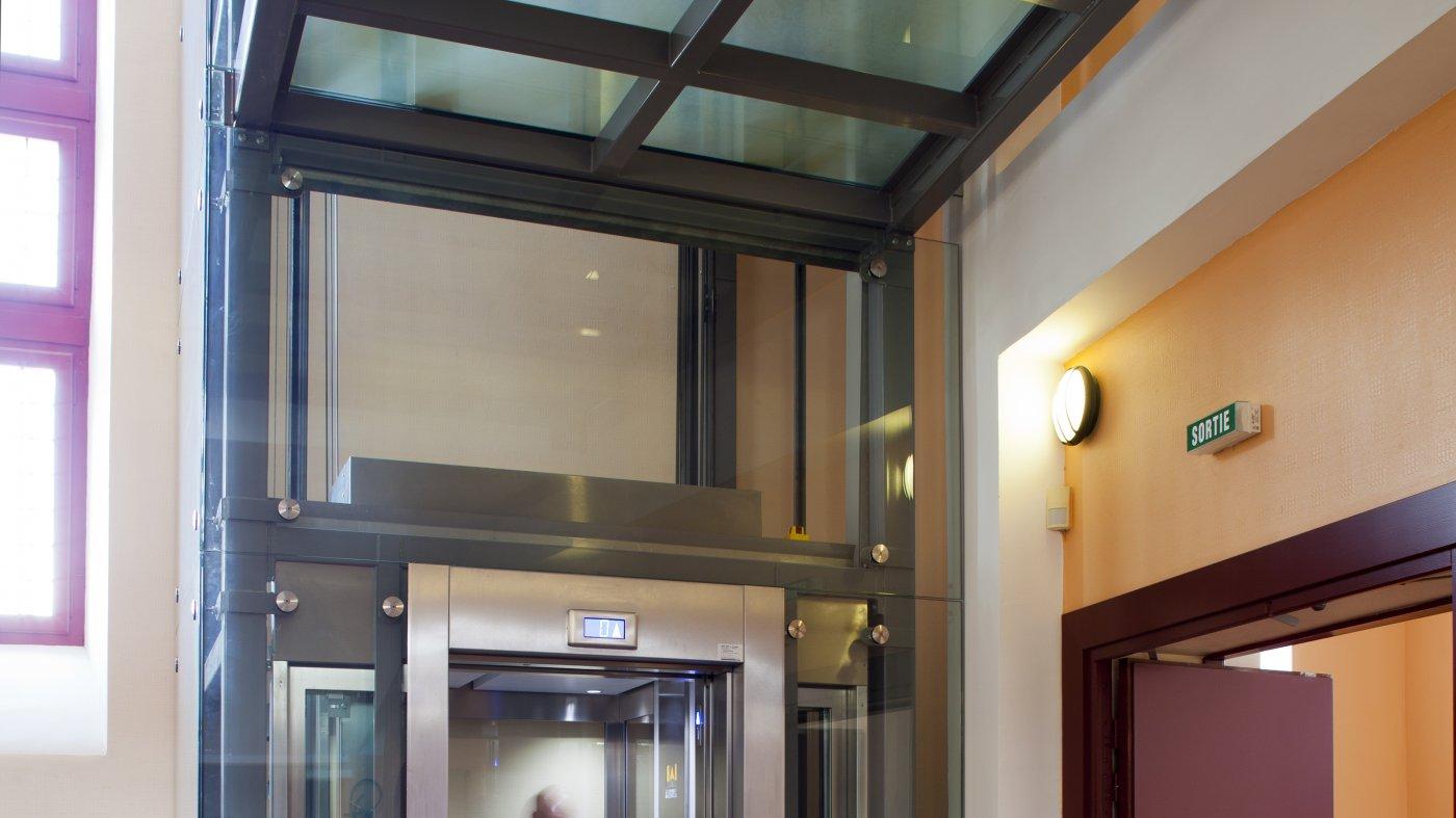 Architecte D Intérieur Douai douai (59) - salle d'anchin construction d'un ascenseur | projet