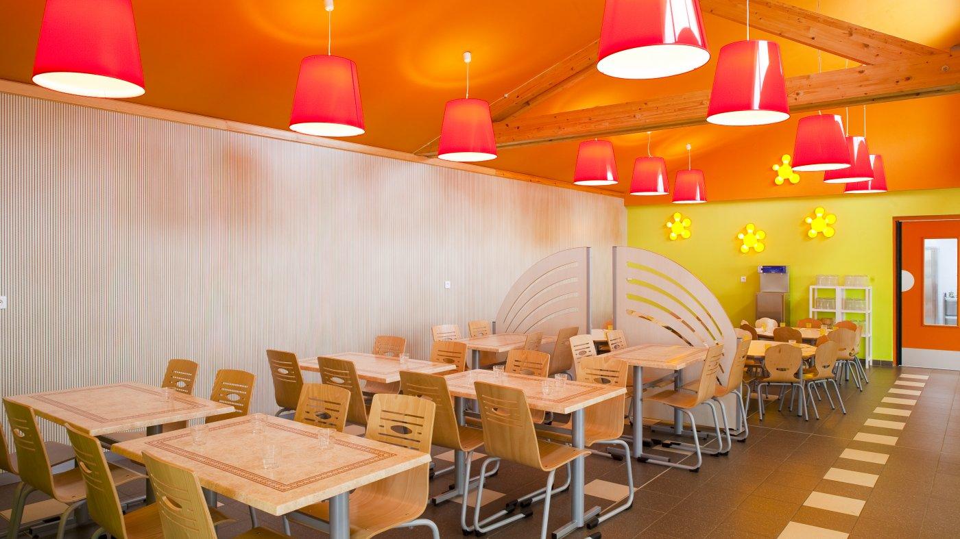 Architecture d'intérieur - Construction d'un restaurant scolaire