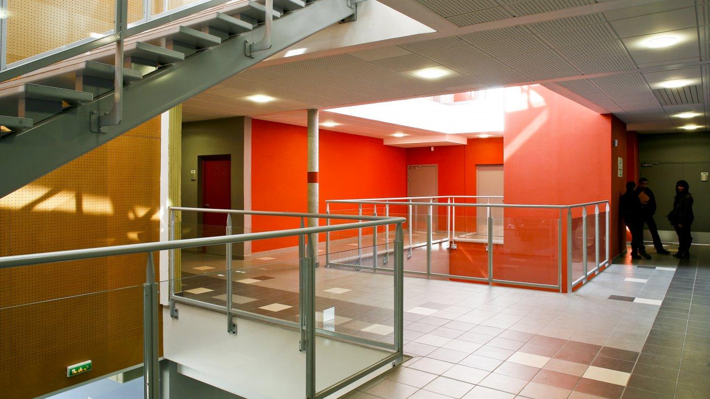 Architecture d'intérieur - Construction du collège Pierre-Gilles-de-Gennes